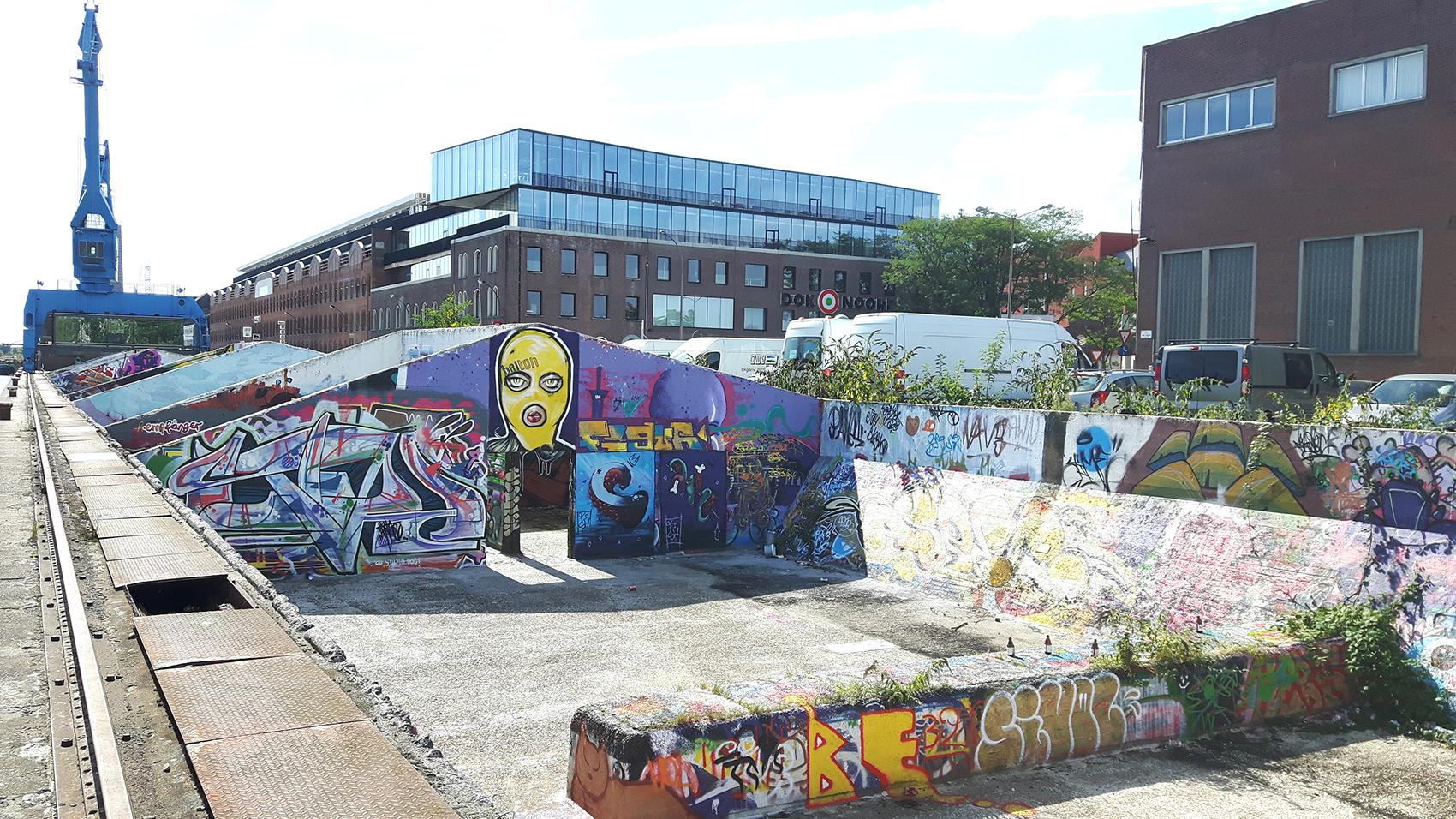 gent-grindbakken-doknoord-graffiti-kraan